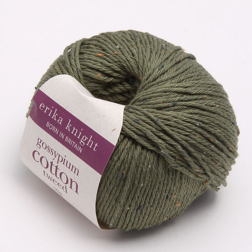 gossypium cotton tweed - khaki